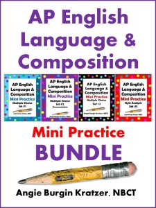 AP English Language & Composition Mini Practice BUNDLE
