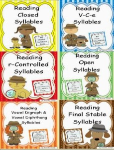 Reading Syllable Type Bundle Cover