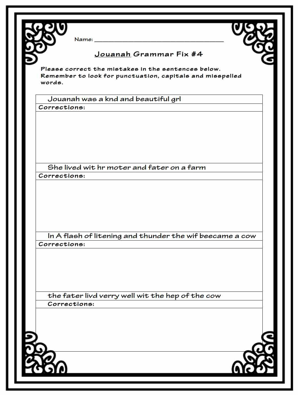 6th Grade Book Report Sample