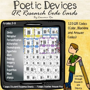 POETIC DEVICES QR CODES