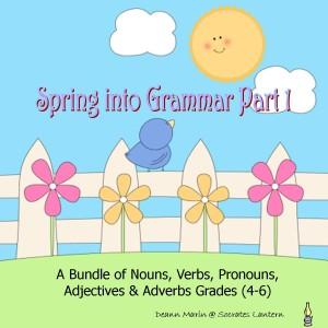 Spring into Grammar Cover 8 x 8