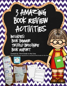 TPT book banner activities Final blog pic jpeg