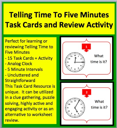 Telling Time 5s 1