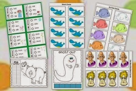 "LANGUAGE ARTS LESSON – ""Vowel Digraphs & Diphthongs Bundle Packet ..."