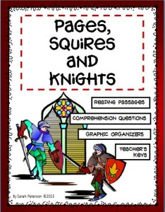 Pages, Squires and Knights