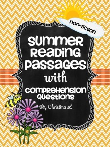 Language arts free summer reading passages the best of teacher slide1 slide3 slide4 slide5 slide6 fandeluxe Images