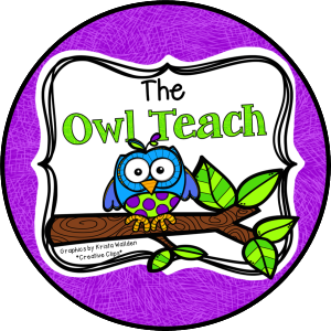The Owl Teach Circle Logo