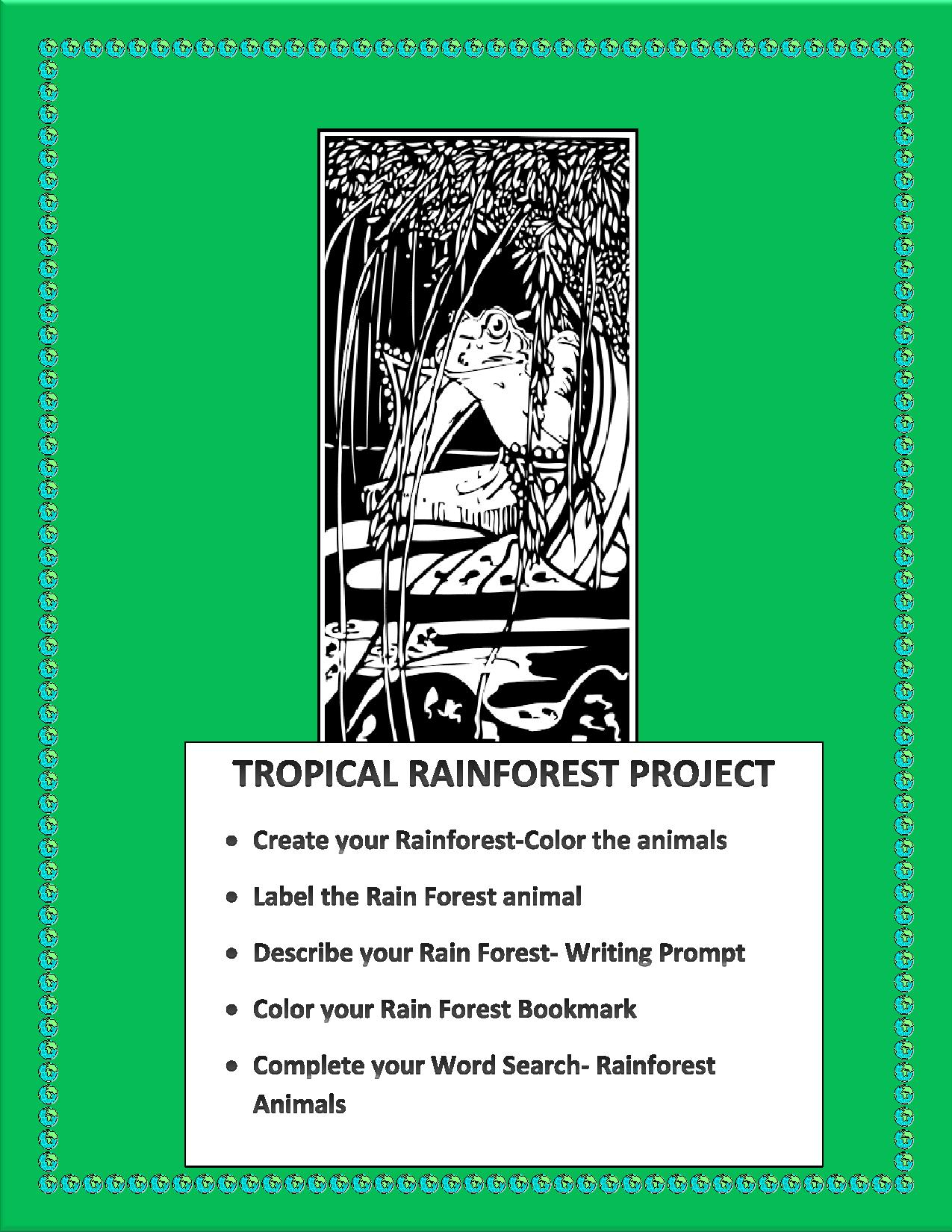 The Great Kapok Tree- The Rain Forest Animal Project – The Best of ...