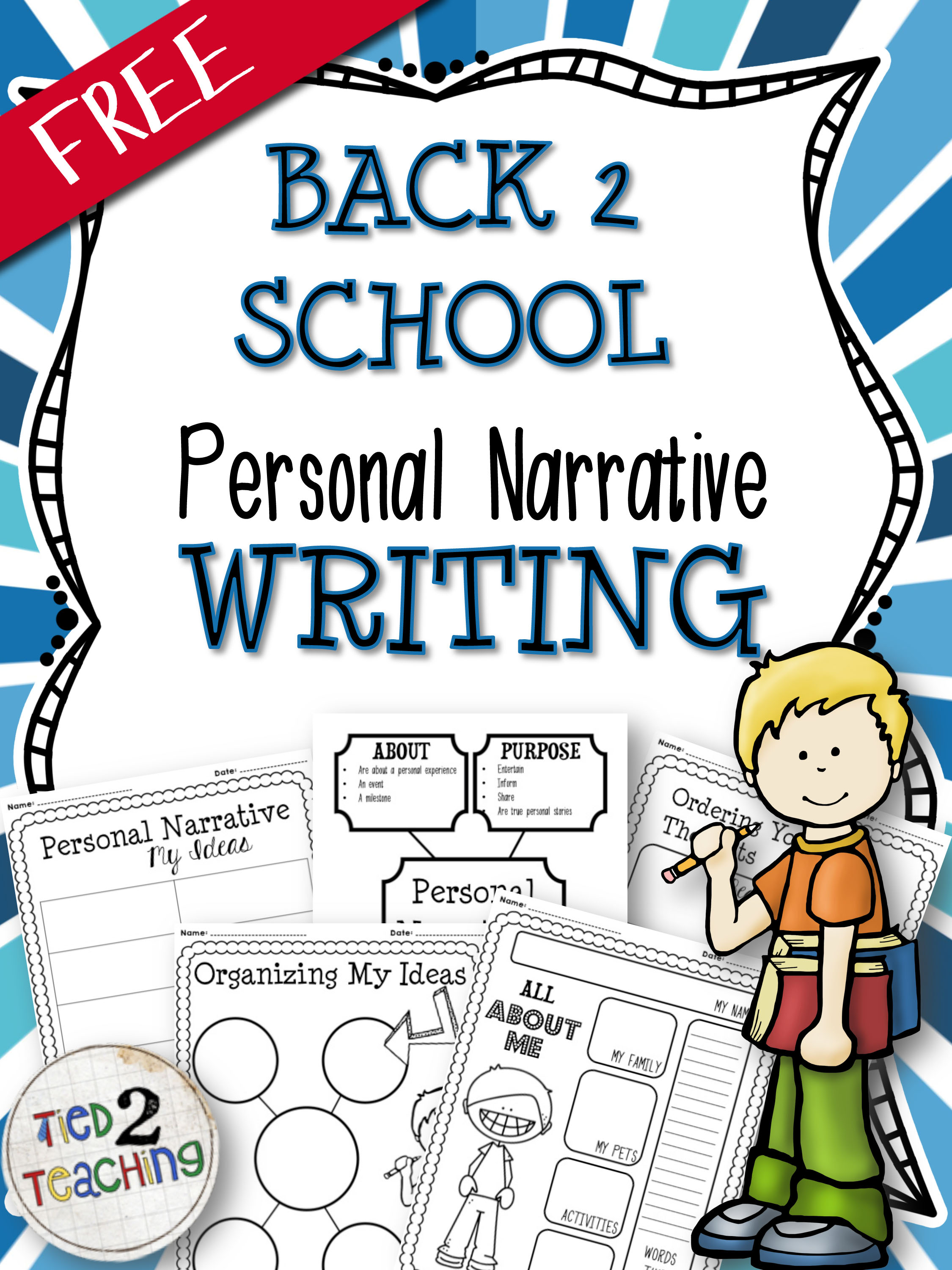 BacktoSchoolPersonalNarrativeWriting-FREE