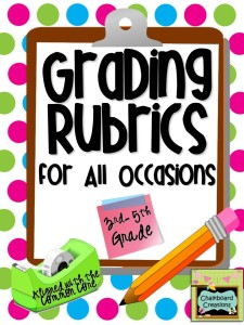Grading Rubrics for All Occasions