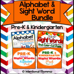 Sight Word and Alphabet Bundle