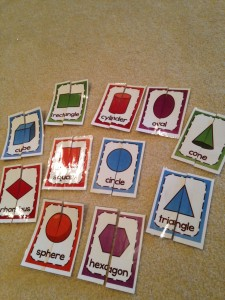 kindergarten math shapes