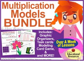 Multiplication Models Bundle