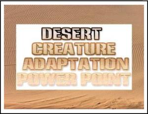 desert creatures png