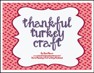 thankful turkey png