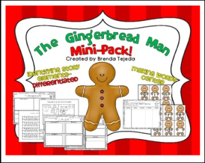 gingerbread mini pack