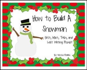 how to build snowman