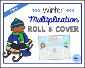 winter multiplication game