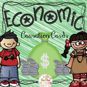FREE CAUSATION CARDS, Social Studies, Economics
