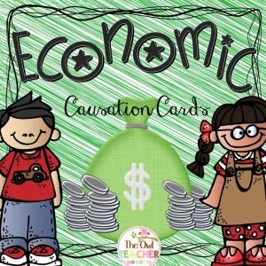 FREE CAUSATION CARDS, Social Studies, Economics