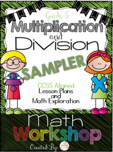 Multiplication and Division Sampler Workshop