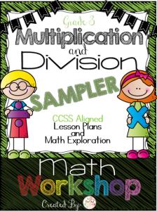 Multiplication and Division Sampler Workshop
