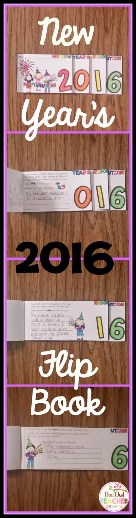 New Year's Resolution Flip Book Again