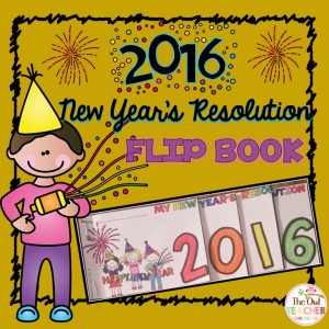 new years resolutions flip book new years day