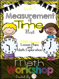 Time Math Workshop Lesson Plans