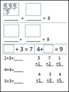 addition assessment