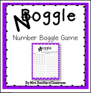 number boggle