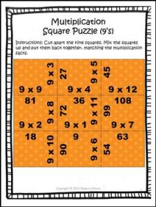 multi square puzzle
