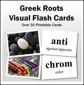 greek roots flashcards
