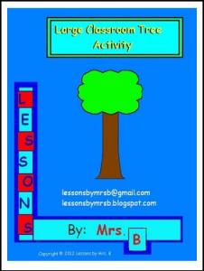 large classroom tree
