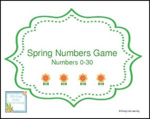 spring numbers game