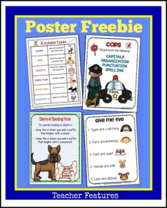 Language Arts Poster Pack