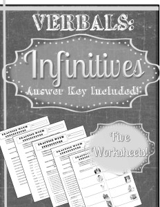 Verbals Bundle Infinitives