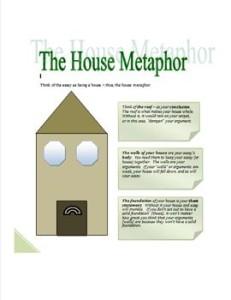 the house metaphor