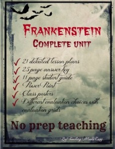 Frankenstein complete unit