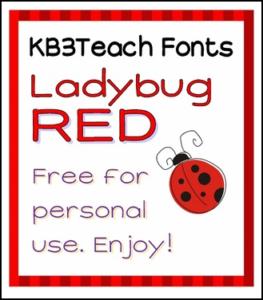 KB3 Ladybug Red