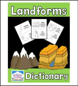 Landforms Dictionary