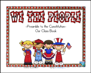We the People Kid Created Class Book