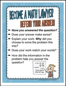 Become A Math Lawyer-Defend Your Answer