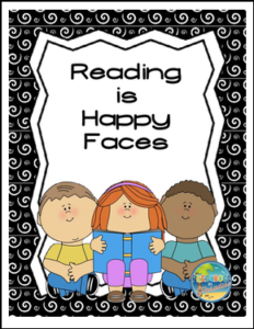 Reading is Happy Faces