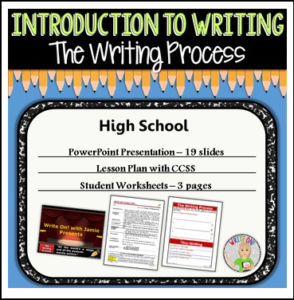 an introduction to the writing process