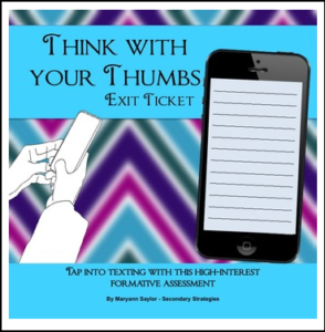 Think with your Thumbs