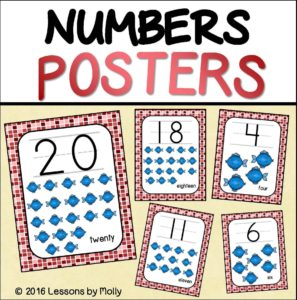 number-counting-posters