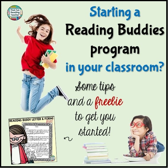 Starting a #ReadingBuddies program in your classroom- Some tips and a freebie to get you started!