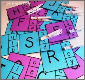letter identification activity