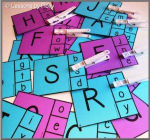 letter identification activity